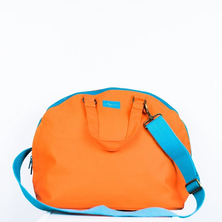 MB GREENE CROSS BODY BAG - TANGERINE