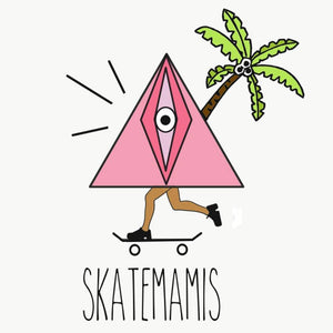 SKATEMAMIS STICKER