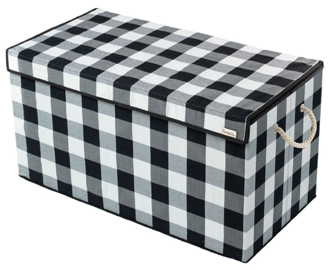 Black & White - Check & Balance Storage Chest - CURRENTLY BACKORDERED