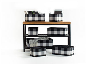 Black & White - Check & Balance 7 Pc Organization Set - Currently Backordered