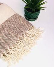 Load image into Gallery viewer, All Around Organic Cotton Turkish Throw