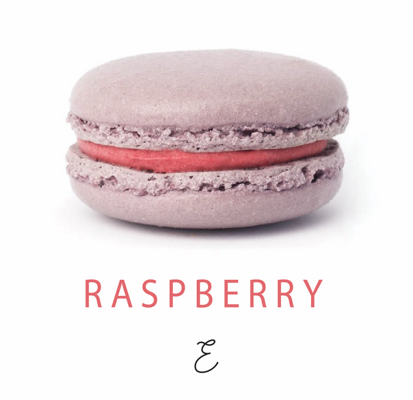 Emmalou raspberry macaron, traditional French macaron handmade in New Zealand