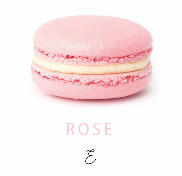Emmalou rose macaron, traditional French macaron handmade in New Zealand