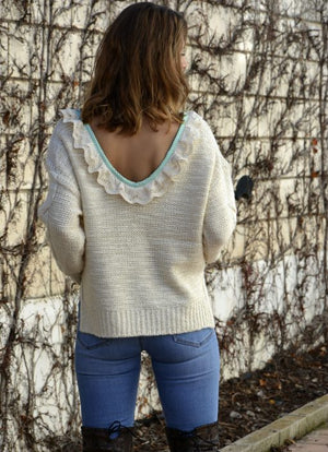 Jersey con relieves Siara - Cloe Boutique