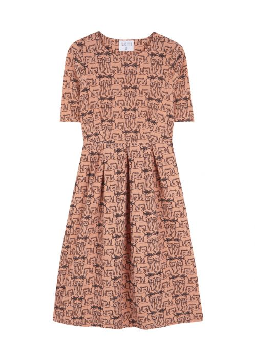 Vestido midi cats - Cloe Boutique