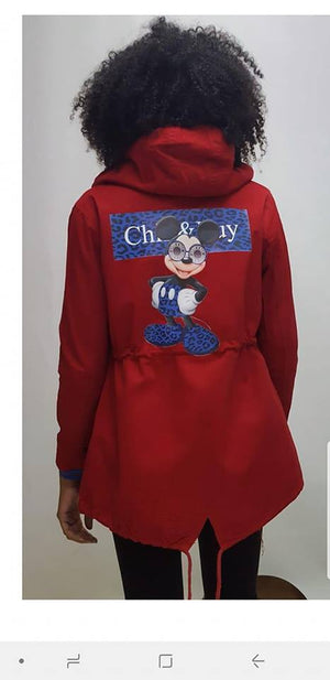 Parka Mickey Chill&buy - Cloe Boutique