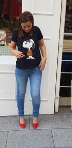 Camiseta Snoopy Chill&Buy - Cloe Boutique