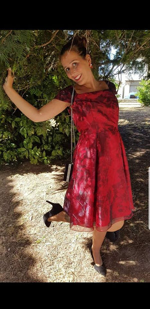 Vestido Red Valuta - Cloe Boutique