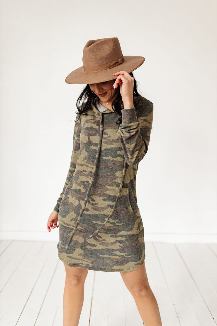 Dreaming in Camo Dress