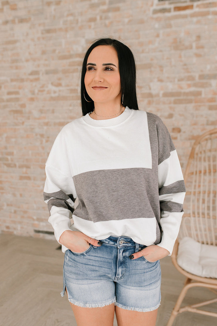 Casual Cool Colorblock Sweater