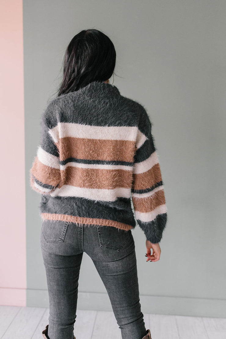 Tiramisu Fuzzy Sweater