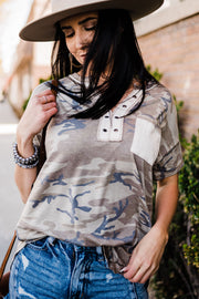 Keeping it Cool Camo Tee