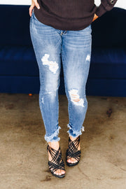 Double Frayed Denim