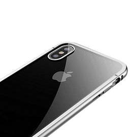 Baseus Magnetite Plated Steel Full Cover Case for iPhone X - iBaseus