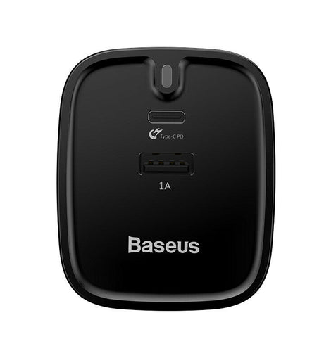 Baseus UK mains Fast PD 3.0 Wall Charger Plug type c+USB for Macbook/ iPhone 8/ X - iBaseus