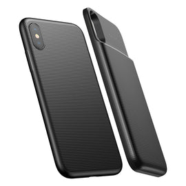 Baseus 5000mAh Magnetic Charging Phone Case Power Bank for iPhone X - iBaseus