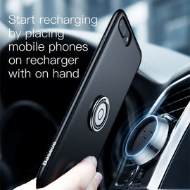 Baseus 5 in 1 Multi Functional Wireless Magnet Dash Mount Charger Case Stand iPhone 7 8 & Plus - iBaseus