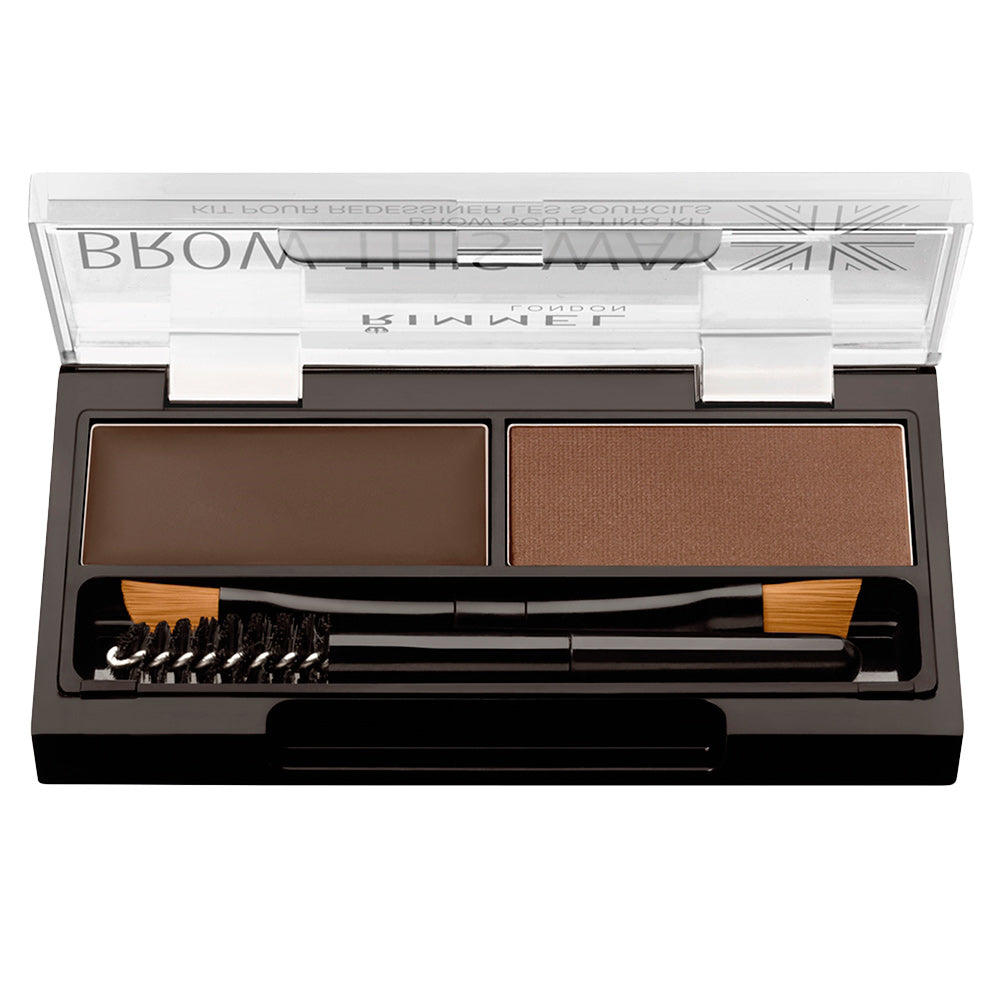 BROW THIS WAY eyebrow sculpting kit #003 -dark brown