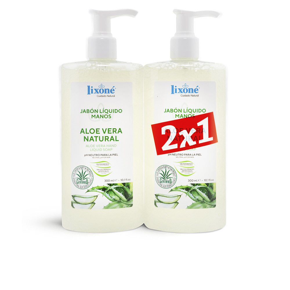 ALOE VERA NATURAL JABÓN SET 2 pz