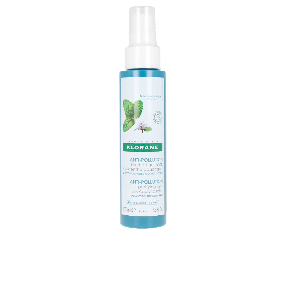 ANTI-POLLUTION purifying mist with aquatic mint 100 ml