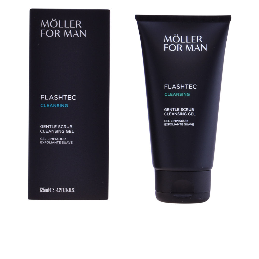 POUR HOMME gentle scrub cleansing gel 125 ml
