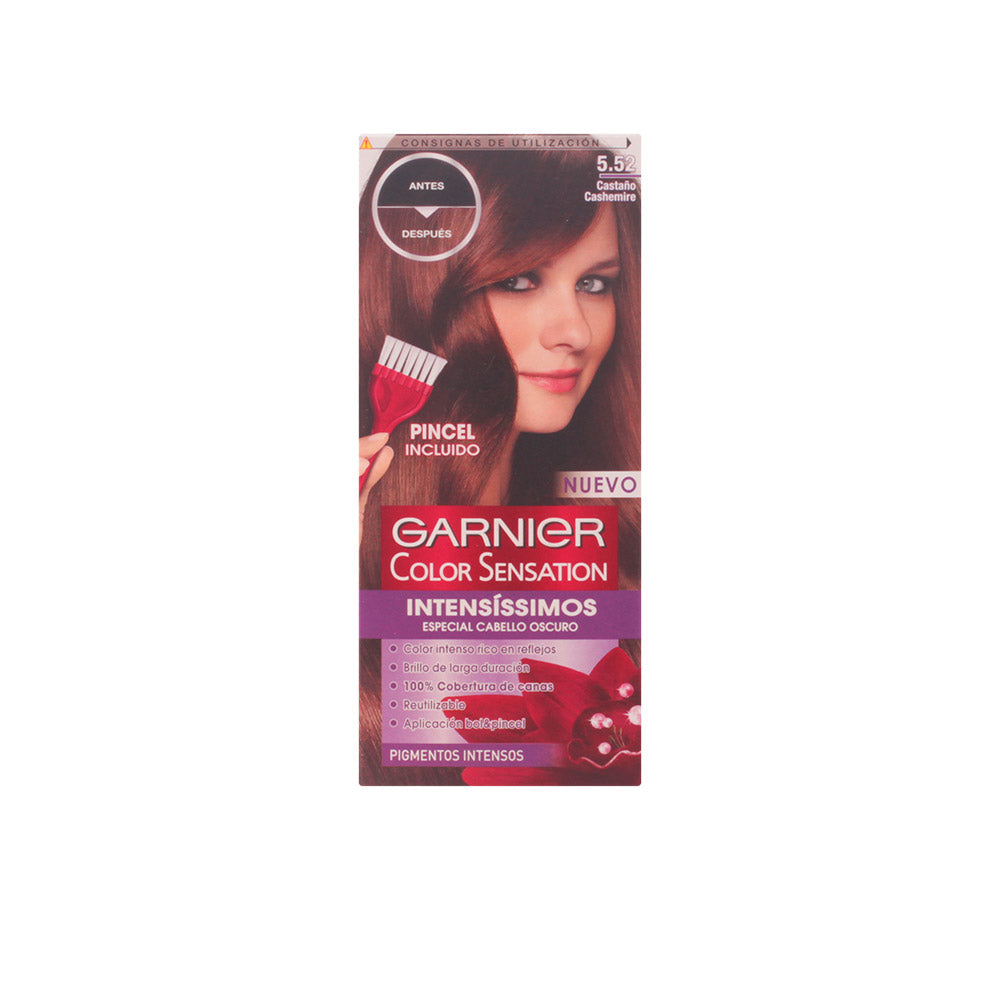 COLOR SENSATION INTENSISSIMOS #5.52 castaño cashemire