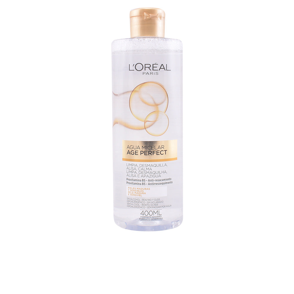 AGE PERFECT agua micelar 400 ml