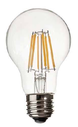 A19 LED BULB E26 BASE 6 WATTS 3000K DIMMABLE - trinitylightingetc-com
