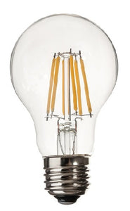 A19 LED BULB E26 BASE 6 WATTS 2700K DIMMABLE
