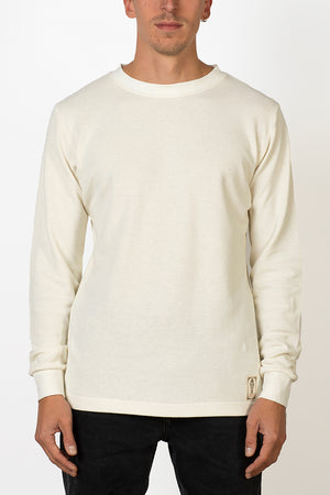 Blanco hemp mesh fabric longsleeve male front