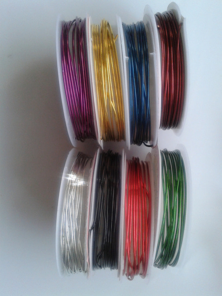 1mm Coloured Copper Wire