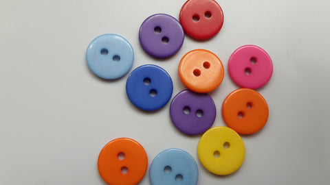 Resin Round Buttons