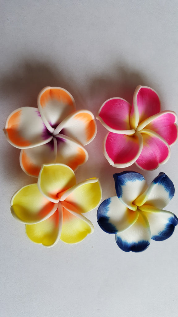 Polymer Clay Flowers 35mm