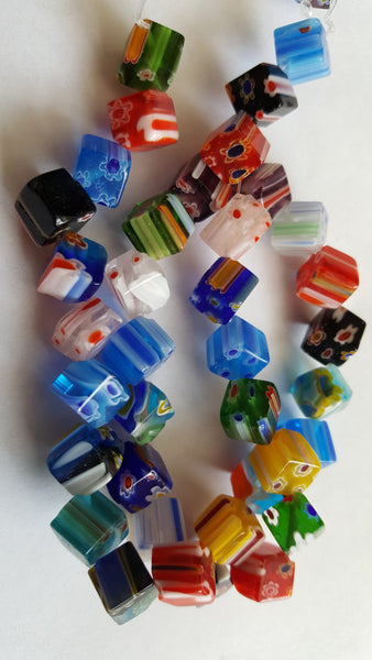 Miscellaneous shaped glass beads