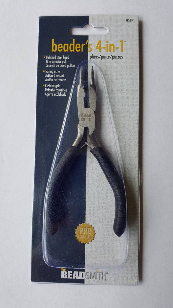 The Beadsmith 4 in 1 Pliers