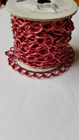 Aluminium Chain -Red