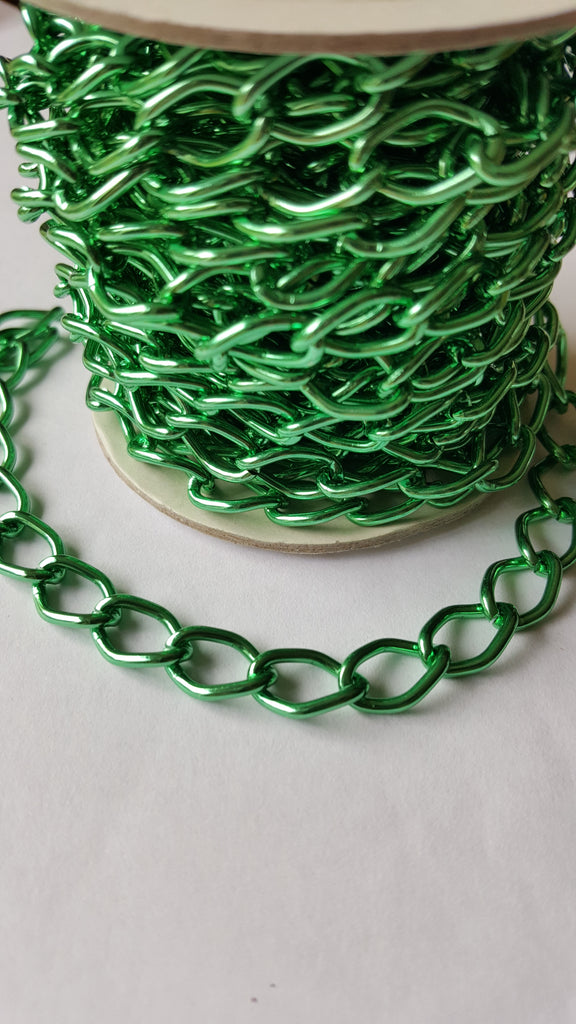 Aluminium Chain - Green