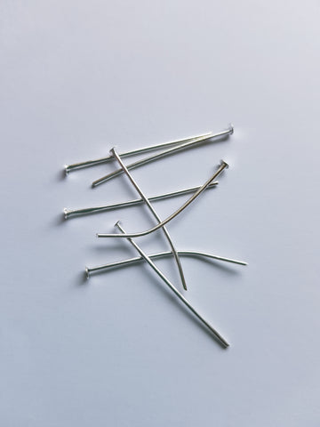 Silver Colour Head Pins