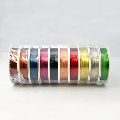 0.4mm Coloured Copper Wire