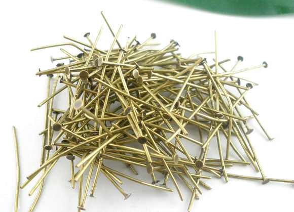 Head / eye pins