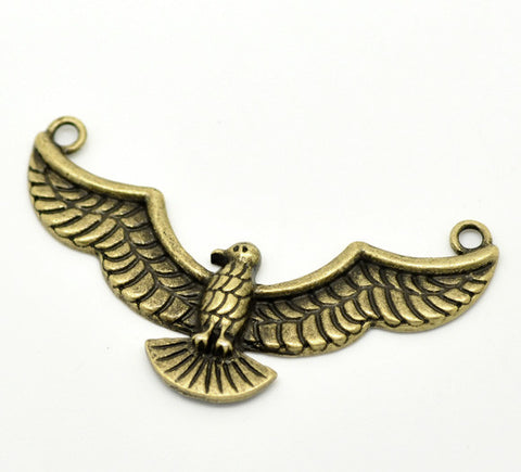 Antique Bronze Eagle Connector