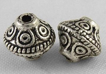 Antique Silver Spacer Beads