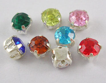 Rhinestone Montee Beads 5mm