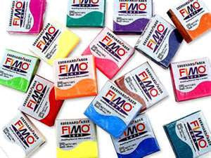 Fimo Modelling Clay. Sold per 56g block.