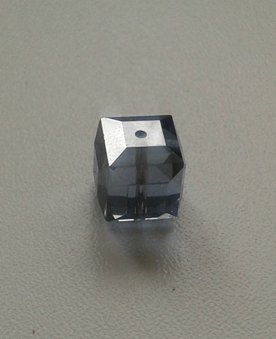 Swarovski Cube Beads 5601 8mm Satin Light Sapphire