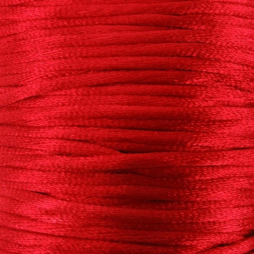 Satin rattail cord. 1mm thick.