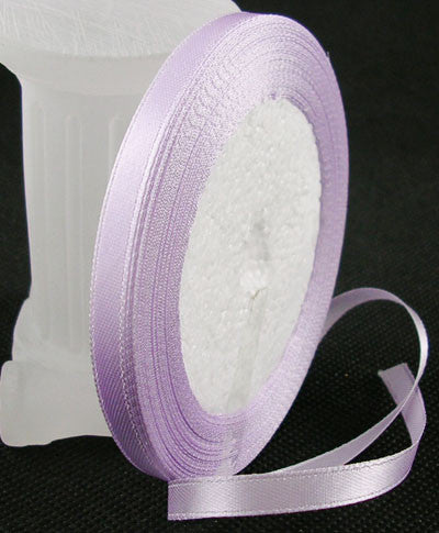 6mm satin ribbon, lavender