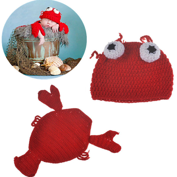 infant lobster newborn photography outfit bonny baby