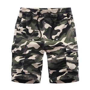 3259fd2296 Fashion 3 Color Male Camouflage Shorts Solid Casual Fitness Short Pants  Summer Breathable Boardshorts Jogger Bermuda Short CYL22
