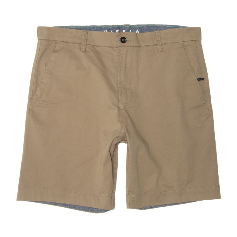 "No See Ums 19"" Walkshort - Light Khaki"